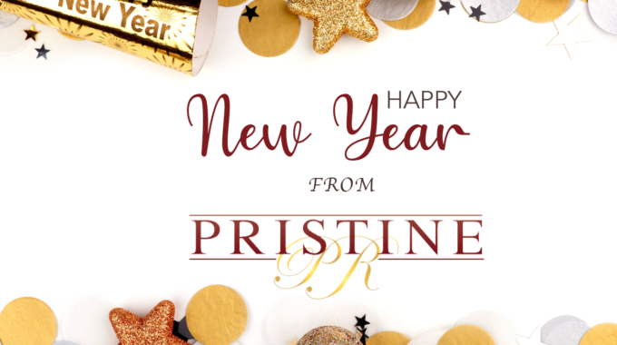 Happy New Year Pristine PR