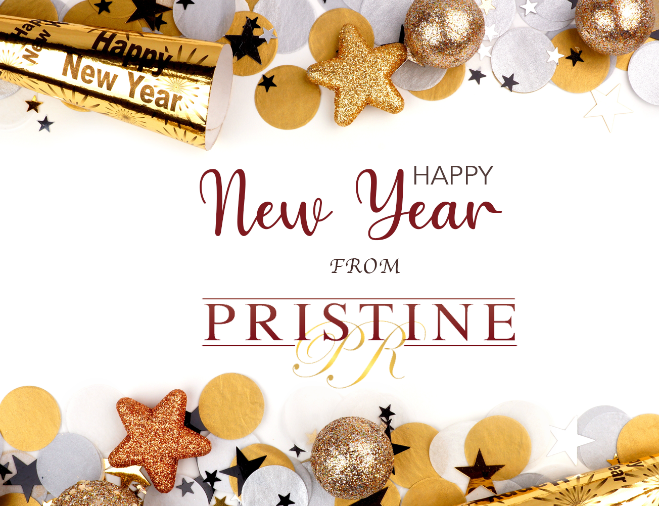 Happy New Year From Pristine PR!